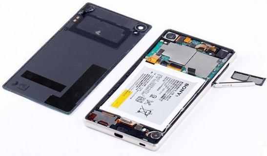 Модульный ремонт телефонов Sony