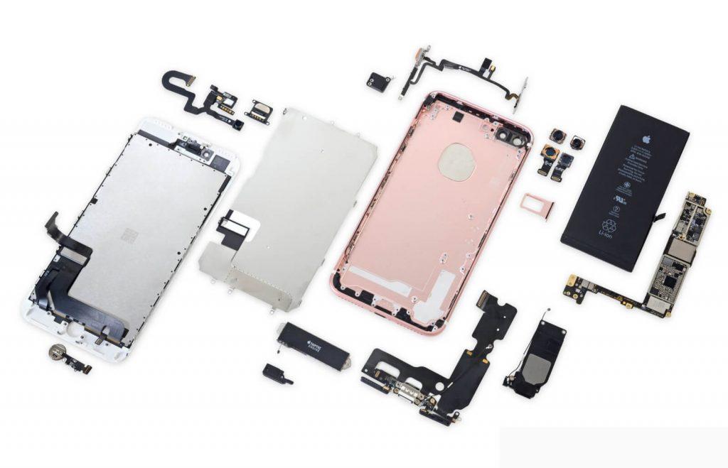 Срочный ремонт iPhone 7 plus
