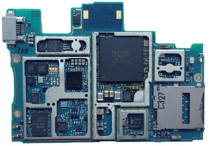 Компонентный ремонт материнских плат телефонов Sony