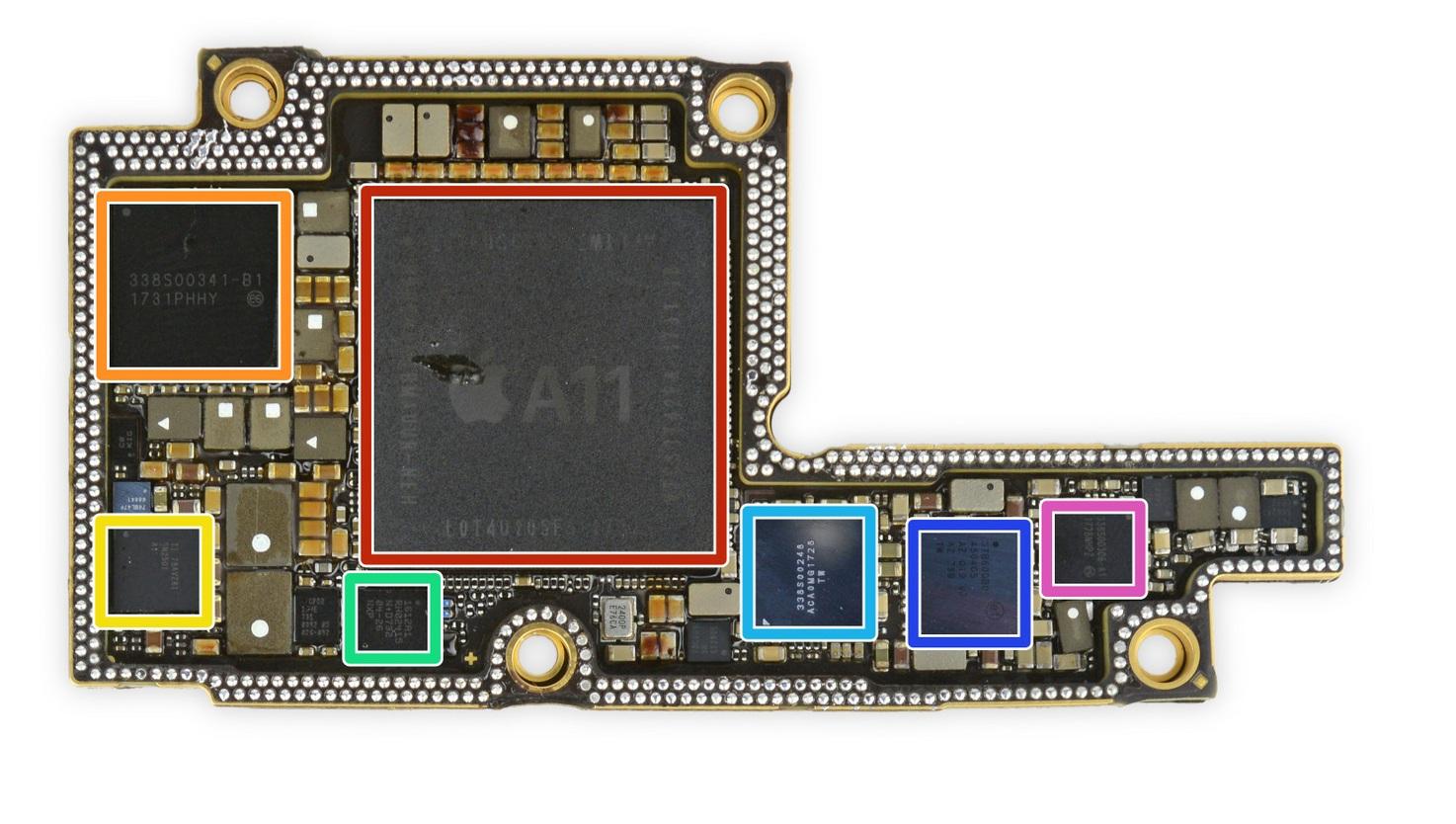 BGA ремонт iPhone X