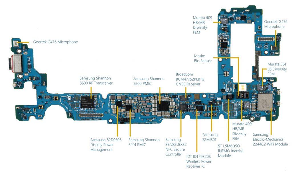 Ремонт контроллеров и микросхем материнских плат Samsung