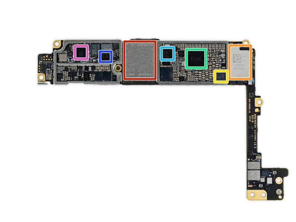 BGA ремонт материнских плат iPhone 7 plus