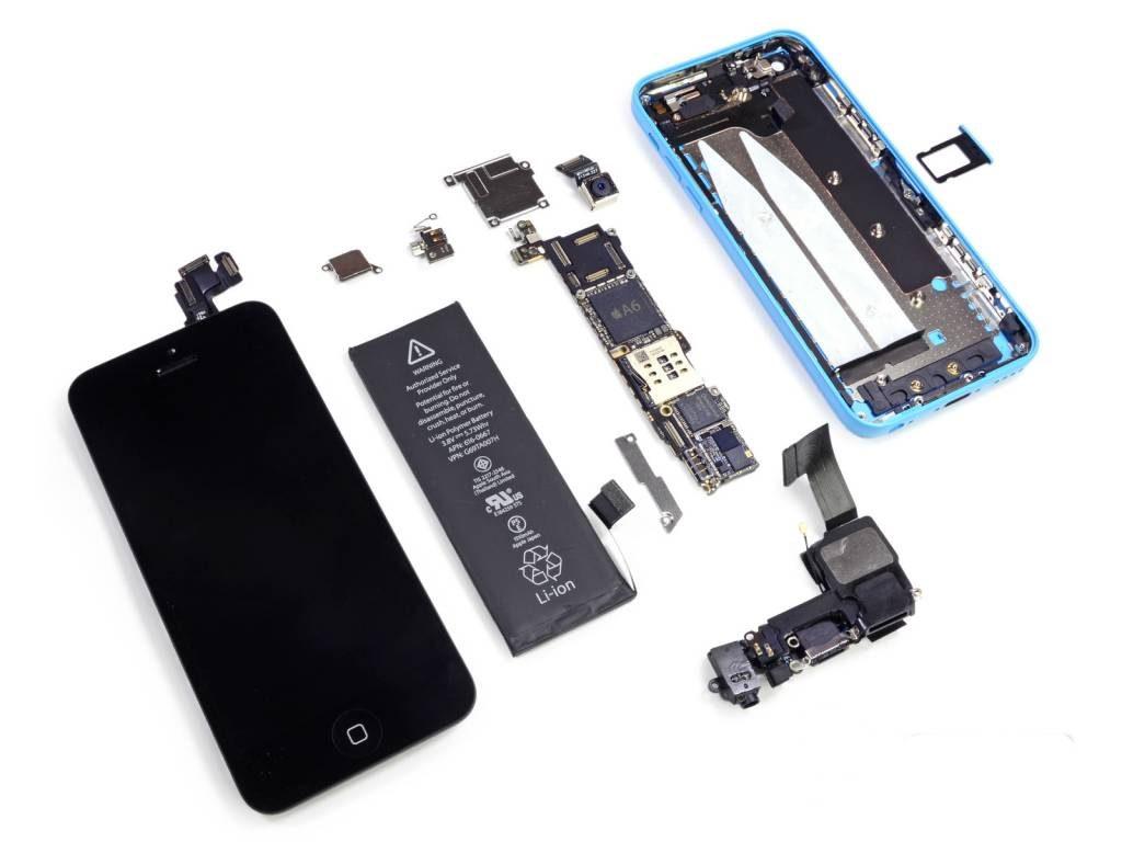 Срочный ремонт iPhone 5c